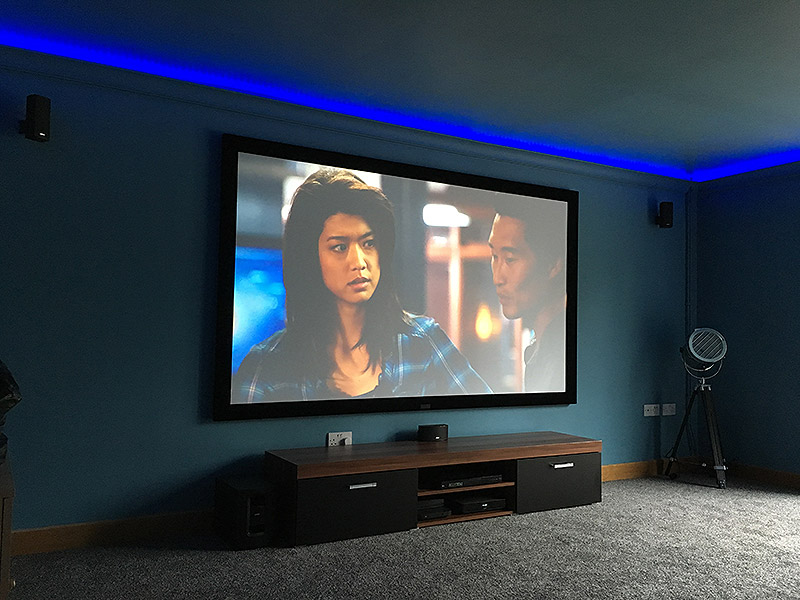 Basic home cinema installation