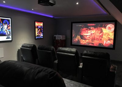 Loft Conversion Home Cinema Room